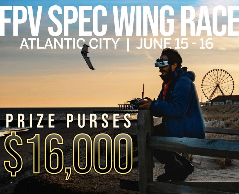 IDRL FPV Spec Wing Racing