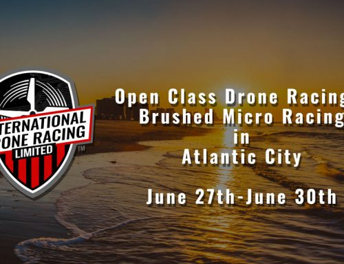 Come see IDRLC Drone Racing at Atlantic City Convention Center